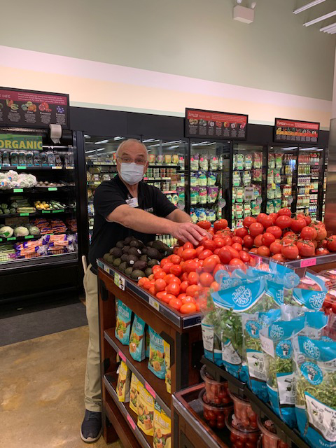 Ron Bowman, produce expert in Springdale, AR.