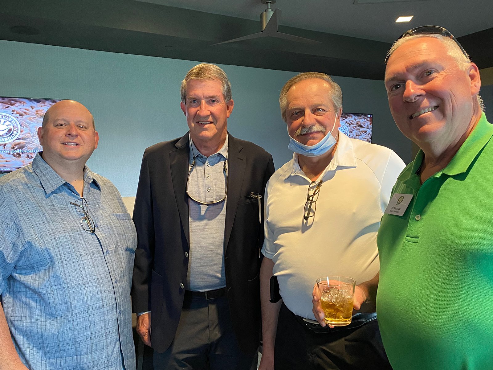 Joe Atchison of the New Jersey Department of Agriculture, Hugh Weathers of the South Carolina Department of Agriculture, Kurt Zuhlke of Kurt Zuhlke Associates and Al Murray of the New Jersey Agricultural Society.