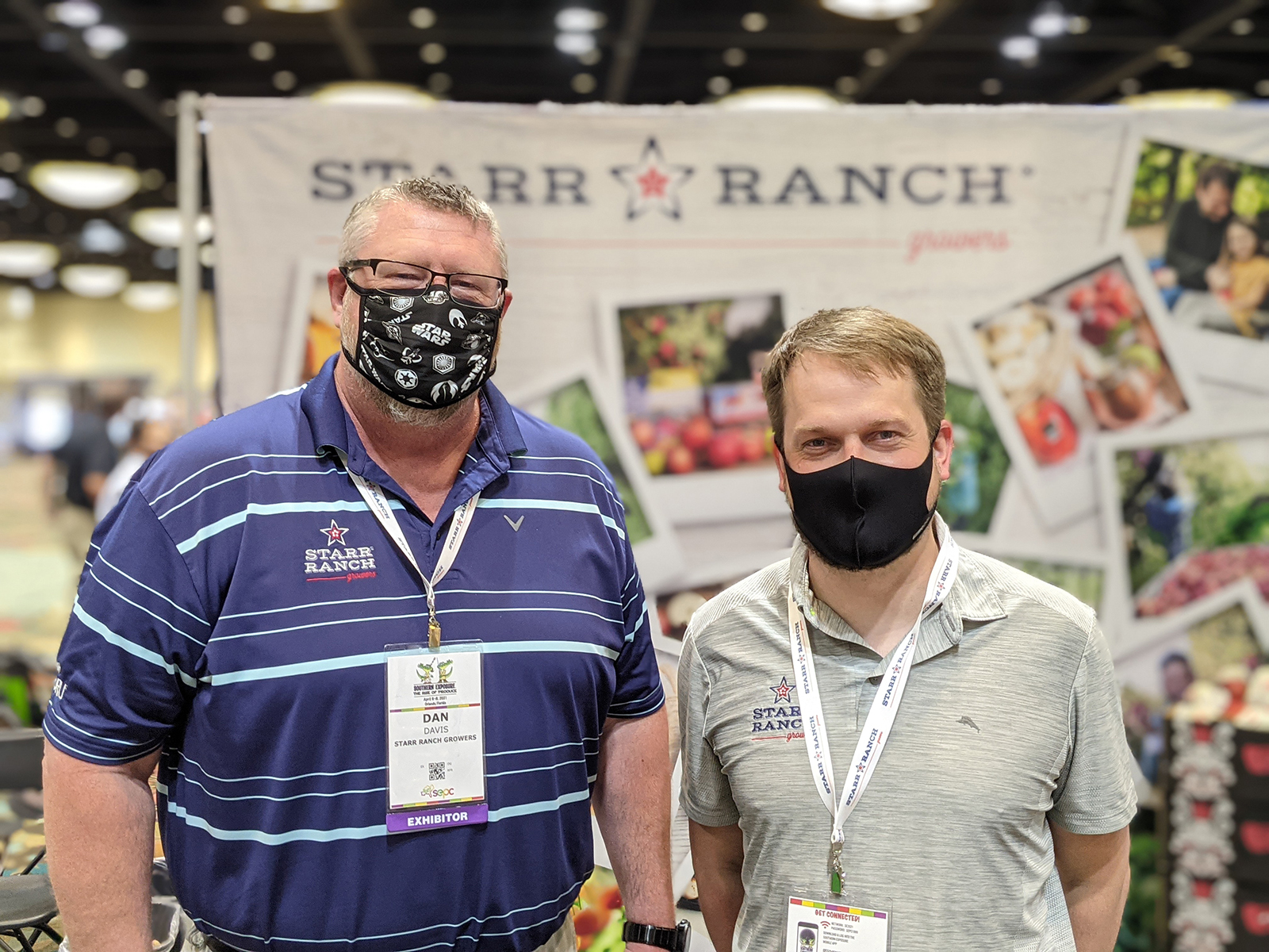 Dan Davis and Brent Shammo of Starr Ranch Growers.