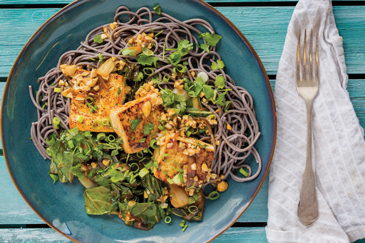 Pan-Seared-Tofu-and-Black-Rice-Noodles